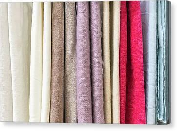 New Textiles Canvas Print by Tom Gowanlock