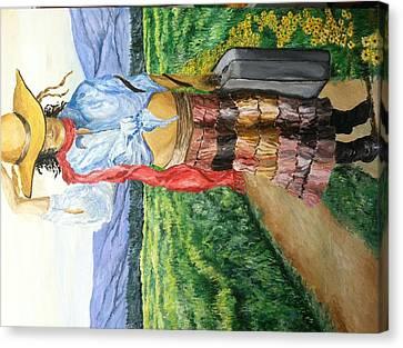 New Trails Canvas Print