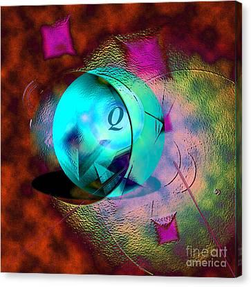 Canvas Print - Q-ball by Dan Sheldon
