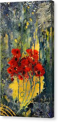 Live Canvas Print by MiMi  Stirn
