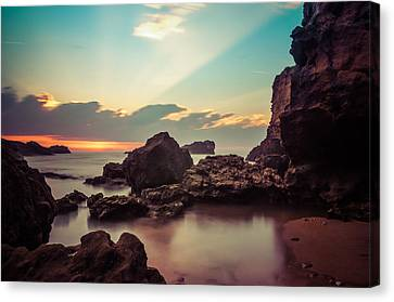 Canvas Print featuring the photograph New Vision by Thierry Bouriat