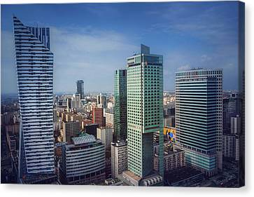 Hdr Landscape Canvas Print - New Warsaw  by Carol Japp
