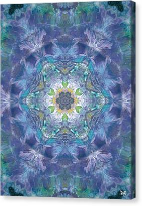 New World Dream Catcher Canvas Print by Maria Watt