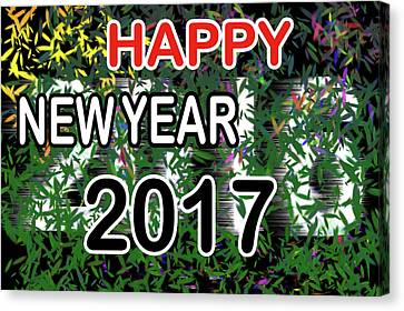 Canvas Print - New Year by Dani Awaludin