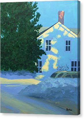 New Year Canvas Print by Laurie Breton