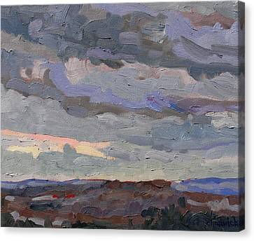 New Year Stratocumulus Canvas Print by Phil Chadwick