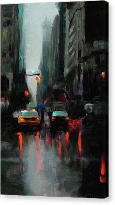 Newyork Canvas Print - New York 1 560 1 by Mawra Tahreem