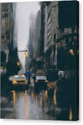 Newyork Canvas Print - New York 1 560 4 by Mawra Tahreem