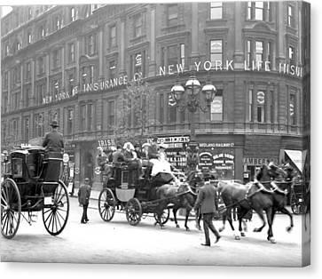 New York 1898 Canvas Print by Steve K