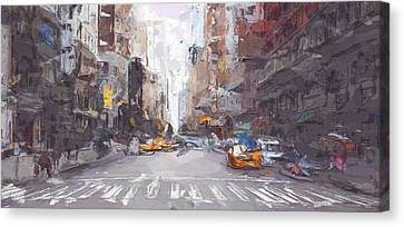 New York Canvas Print by Art Dreams