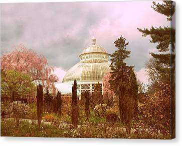 New York Botanical Garden Canvas Print by Jessica Jenney