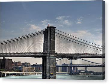 New York Bridges Canvas Print by Kelly Wade