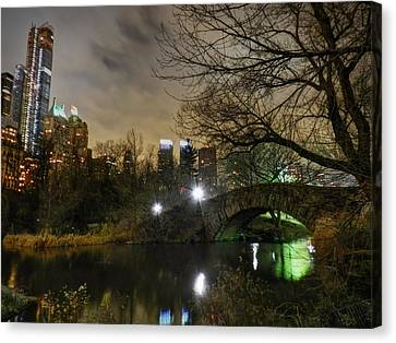 Manhattan Canvas Print - New York - Central Park 006 by Lance Vaughn