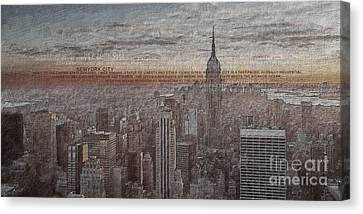New York City 2 Canvas Print by Gull G