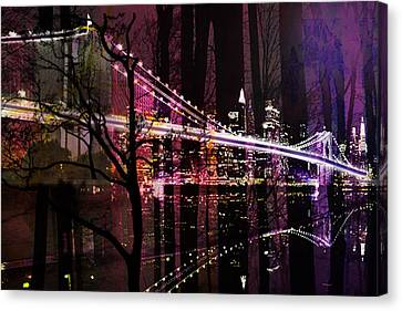 New York City Canvas Print by Christine Mayfield