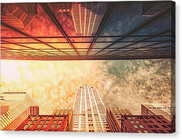 New York City - Chrysler Building Canvas Print