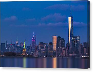 New York City Icons Canvas Print by Susan Candelario