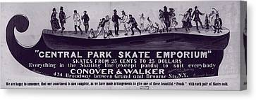 New York City, Illustration Advertising Canvas Print by Everett