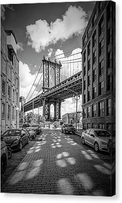New York City Manhattan Bridge Canvas Print