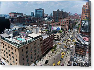 New York City Meat Packing District Canvas Print
