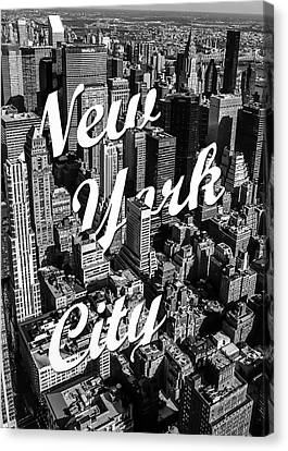 Street Art Canvas Print - New York City by Nicklas Gustafsson