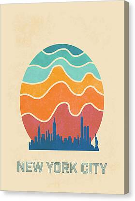 New York City Canvas Print by Nicole Wilson