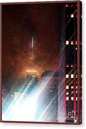 Newyorkcity Canvas Print - New York City Night by Joseph J Stevens