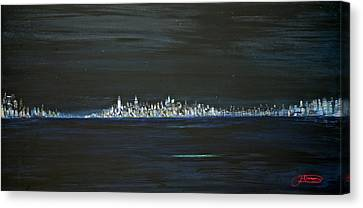 New York City Nights Canvas Print