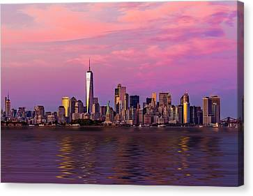 Brooklyn Bridge Canvas Print - New York City Nyc  Landmarks by Susan Candelario
