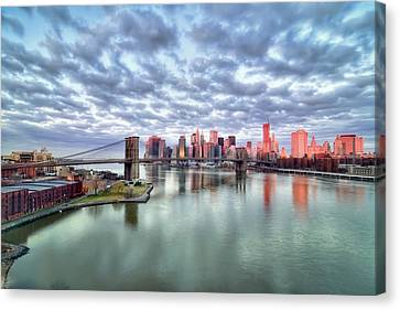 New York City Canvas Print by Photography by Steve Kelley aka mudpig