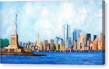 New York City Rebirth Canvas Print