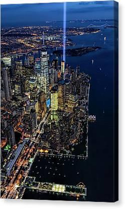 New York City Remembers 9-11 Canvas Print