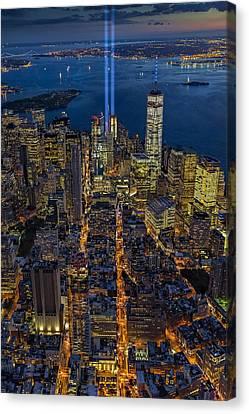 New York City Remembers September 11 - Canvas Print