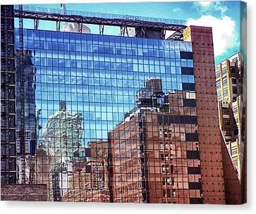 New York City Skyscraper Art 4 Canvas Print by Judi Saunders