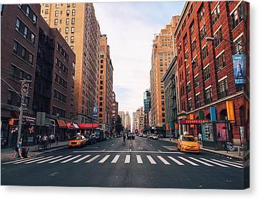 New York City - Summer Canvas Print
