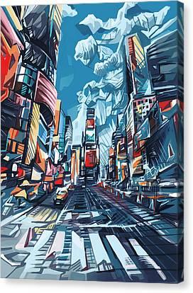 New York City-times Square Canvas Print