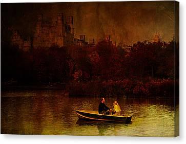 New York Fall Canvas Print by Jeff Burgess