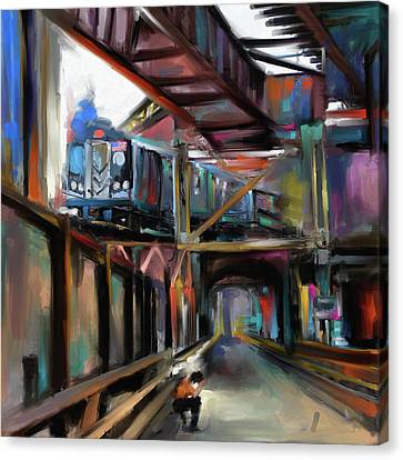 New York I 465 I Canvas Print by Mawra Tahreem