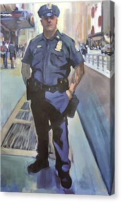 New York Canvas Print by Merle Keller