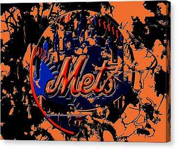 New York Mets 6c Canvas Print
