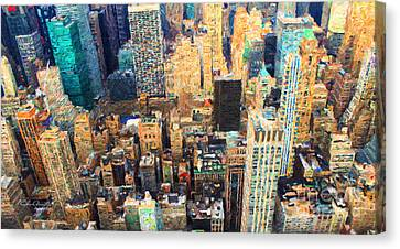 New York, New York Canvas Print by Chris Armytage
