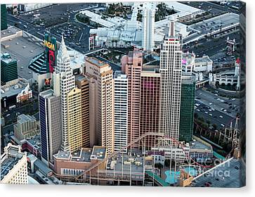 New York-new York Hotel And Casino Canvas Print by PhotoStock-Israel