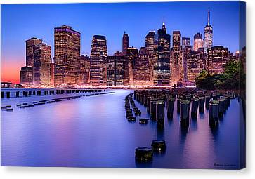 New York New York Canvas Print by Marvin Spates