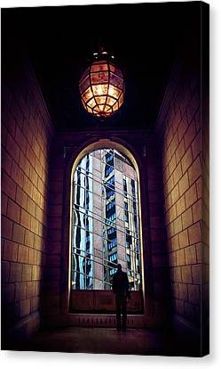 Canvas Print featuring the photograph New York Perspective by Jessica Jenney