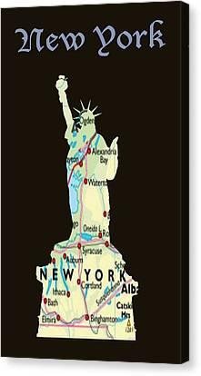 New York Canvas Print by Art Spectrum