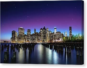 New York Sky Line Canvas Print by Nanouk El Gamal - Wijchers