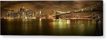 New York Skyline Canvas Print by Shubhra Pandit