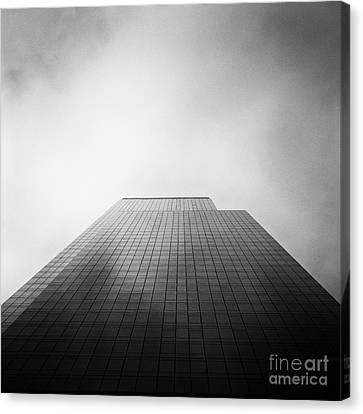 New York Skyscraper Canvas Print by John Farnan