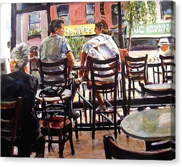 New York Spice Canvas Print by Chuck Berk