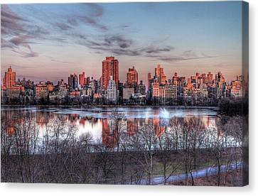 New York Spring Awakening Canvas Print by Ariane Moshayedi